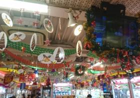 2016クリスマス装飾|天井編☆